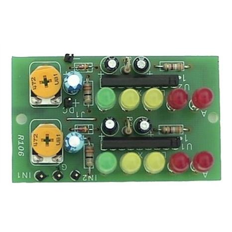 2 x 5-LED Stereo VU-Meter