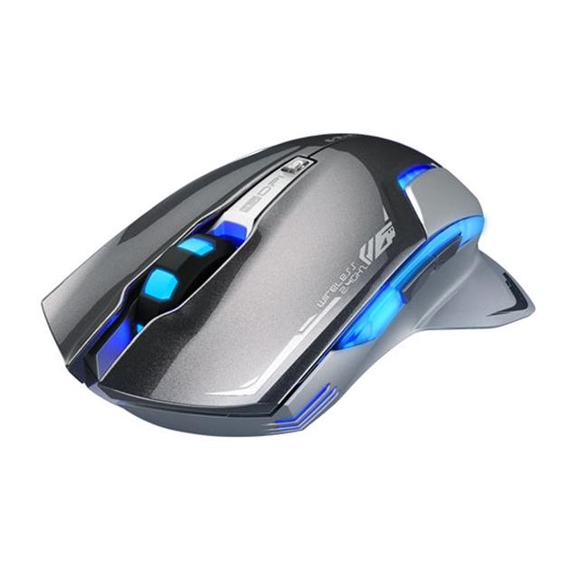 Souris pour jeux sans fil couleur gris e blue mazer type r ii informatique - Jeux de souris d ordinateur ...