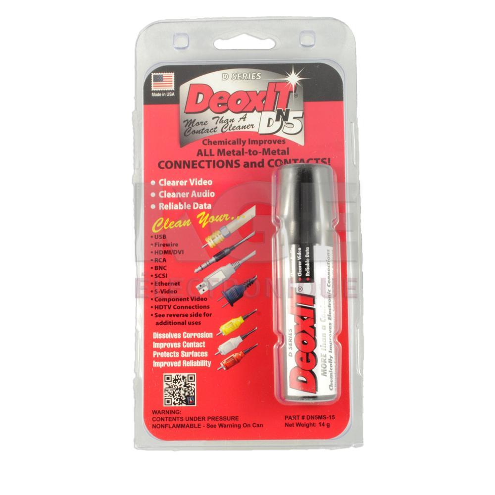 Nettoyant de contact deoxit dn5 mini spray 14g - Nettoyant contact electronique ...