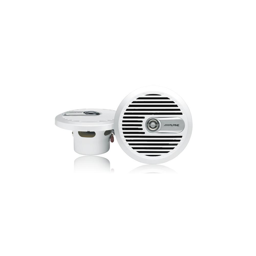 haut parleur marin 6 5 coaxial 2 voies blanc sps m600w mobile kge lectronique. Black Bedroom Furniture Sets. Home Design Ideas
