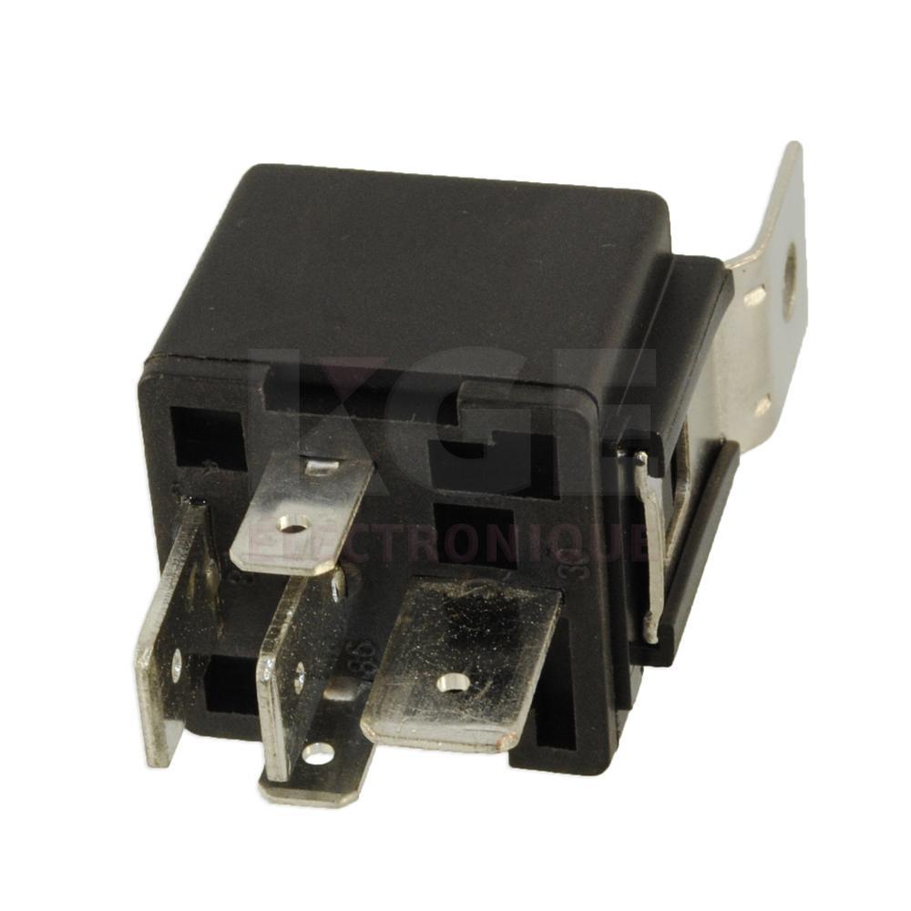 relais style bosh 80a 12vdc 5 broches lr4171 12vdc 1c lectronique kge lectronique. Black Bedroom Furniture Sets. Home Design Ideas