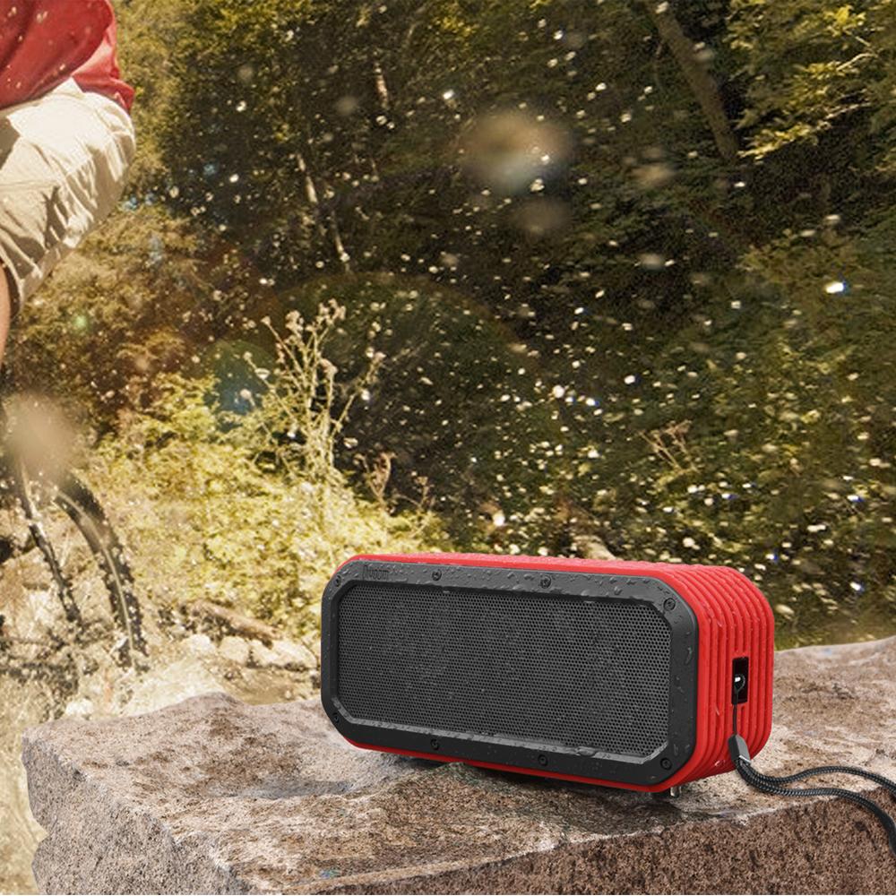Haut parleur bluetooth voombox pour l 39 exterieur rouge for Haut parleur exterieur