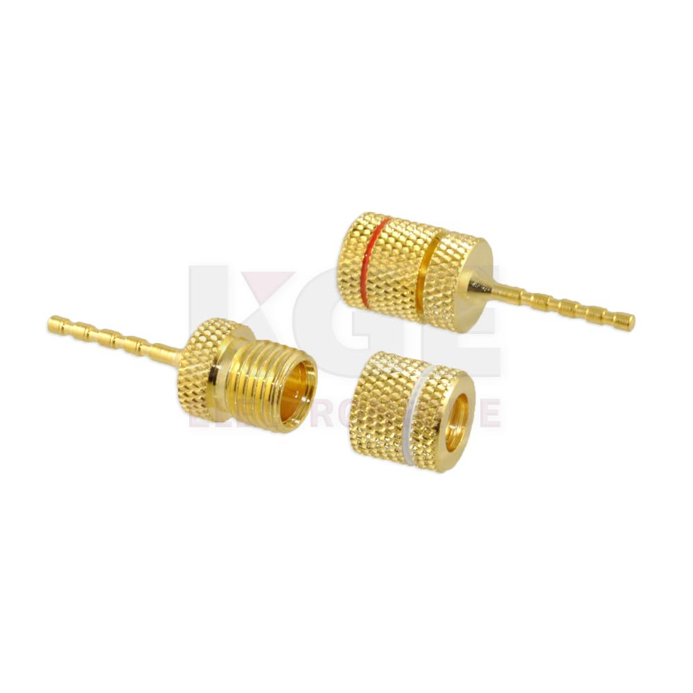 Pin connector for speaker wire (16-12G) - Electronics | KGE électronique