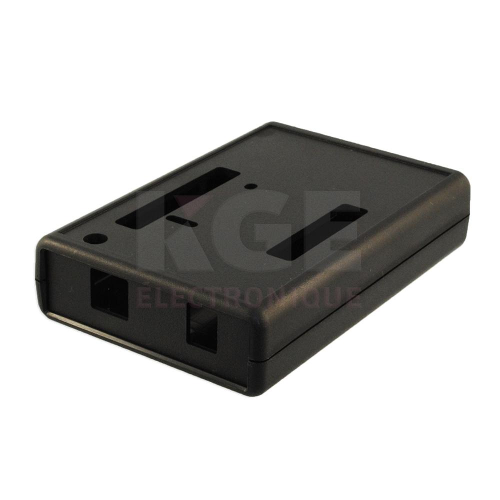 bo tier en plastique pour carte pcb arduino 1593hamunobk lectronique kge lectronique. Black Bedroom Furniture Sets. Home Design Ideas