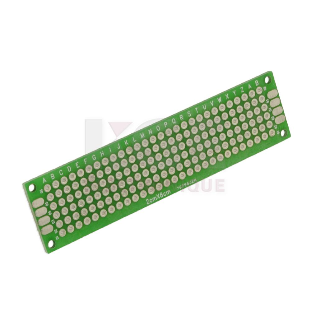 Plain Perforated Pcb Board Agcrewall Prototyping Printed Circuit Prototype Breadboard Alex Nld 2x8cm Double Side Pc