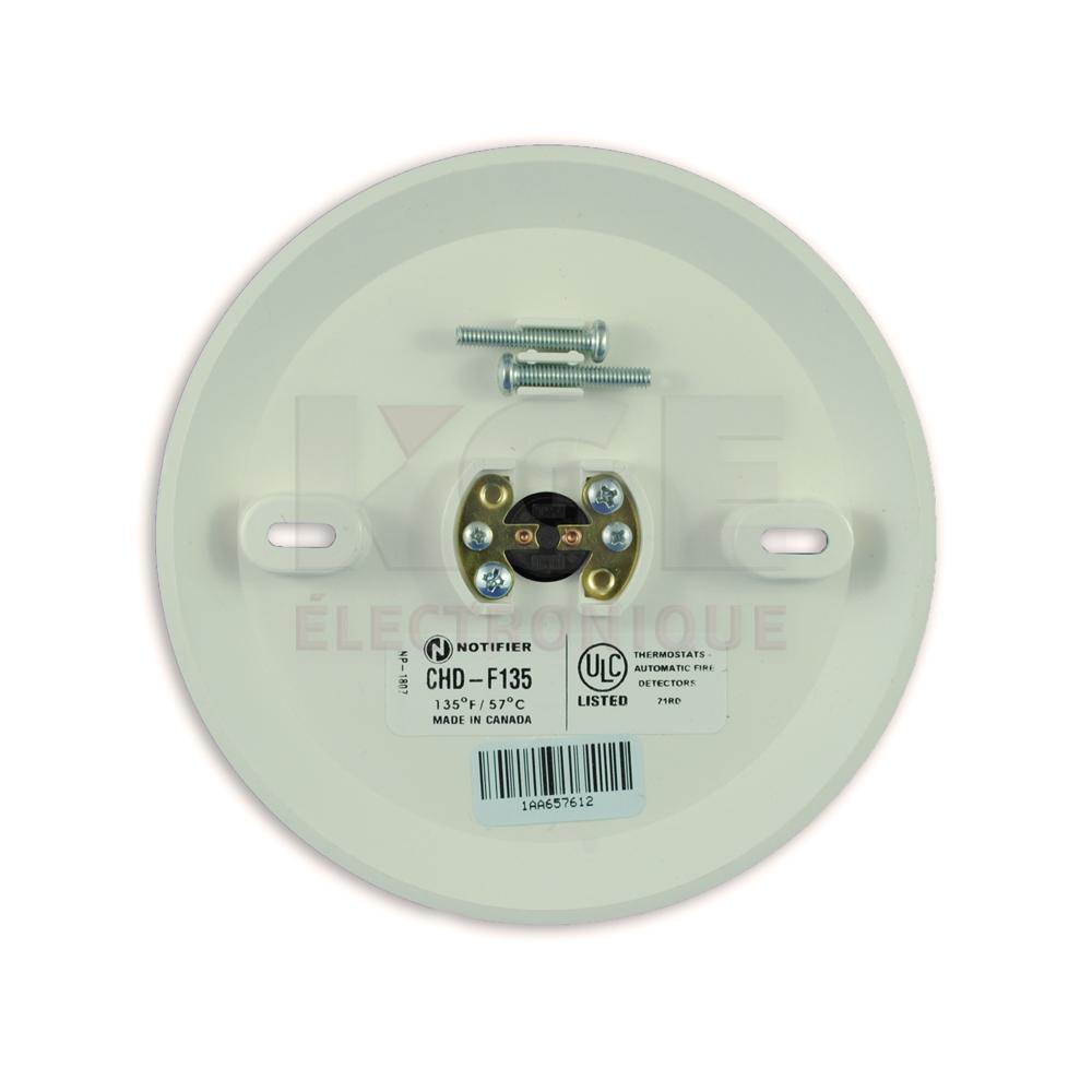 D tecteur de chaleur 135 degr s s curit kge lectronique for Detecteur chaleur