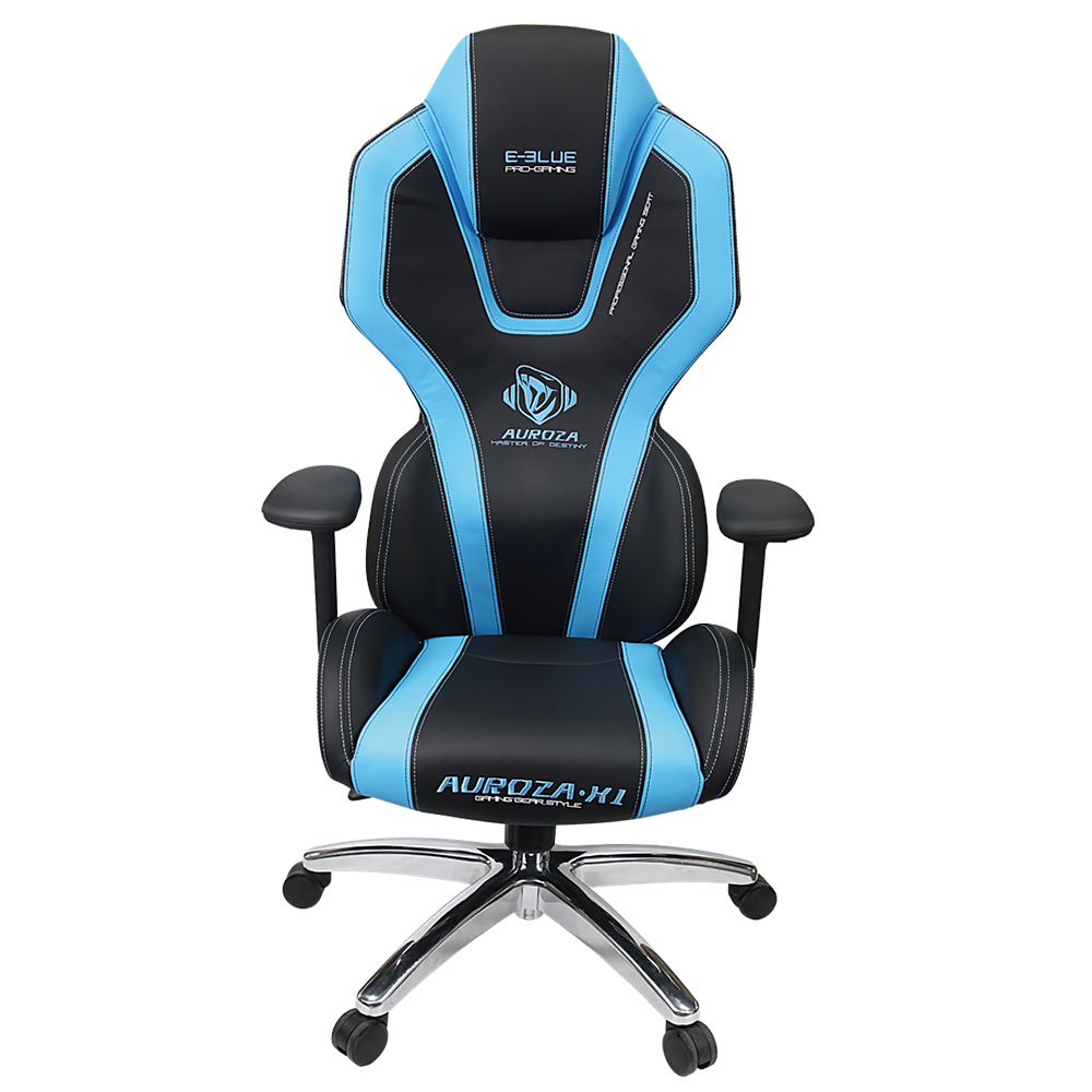 Bluetooth Gaming Chair Chaise Gamer E-Blue Auroza - Bleu - Informatique | KGE ...