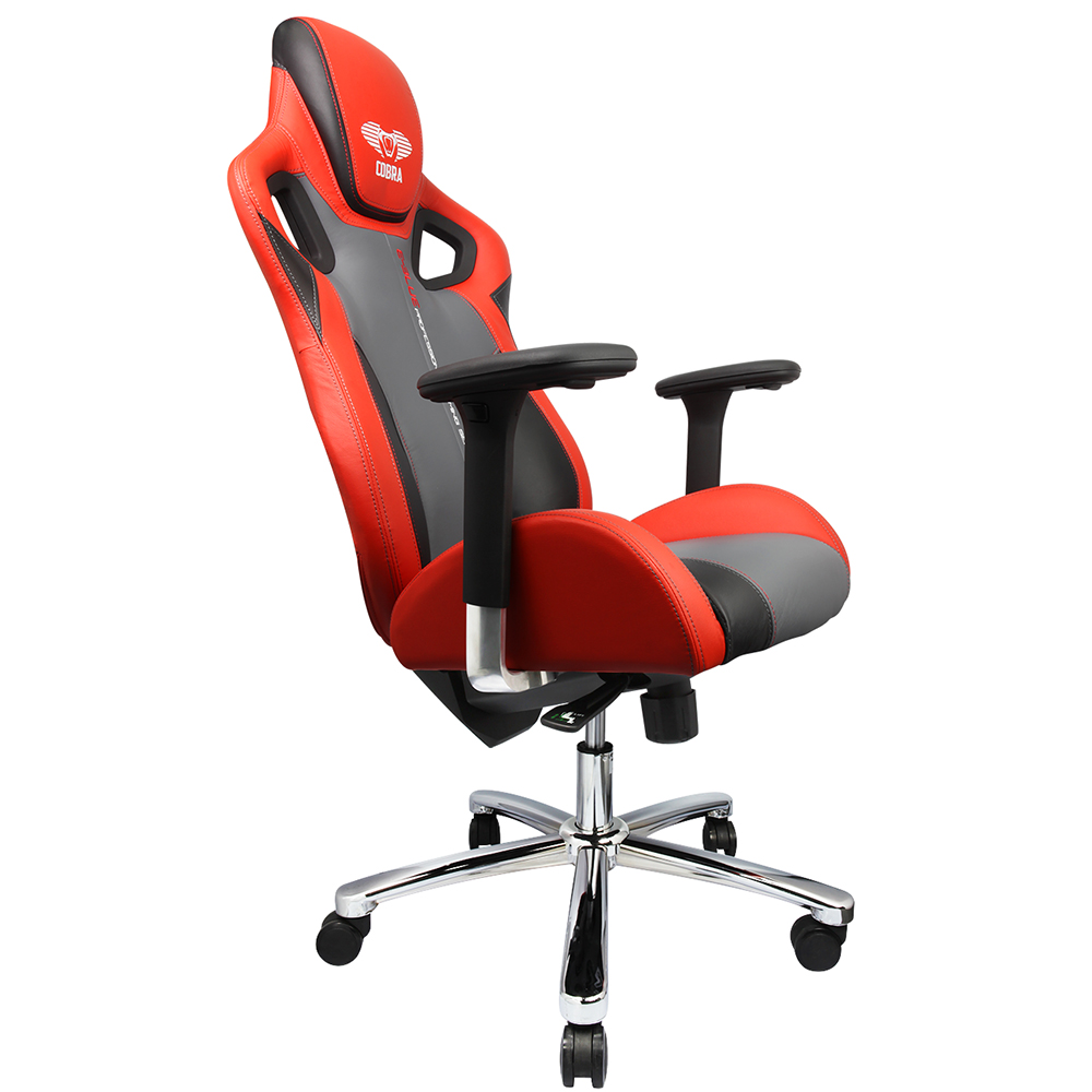 Chaise gamer e blue cobra x rouge informatique kge for Chaise de gamer