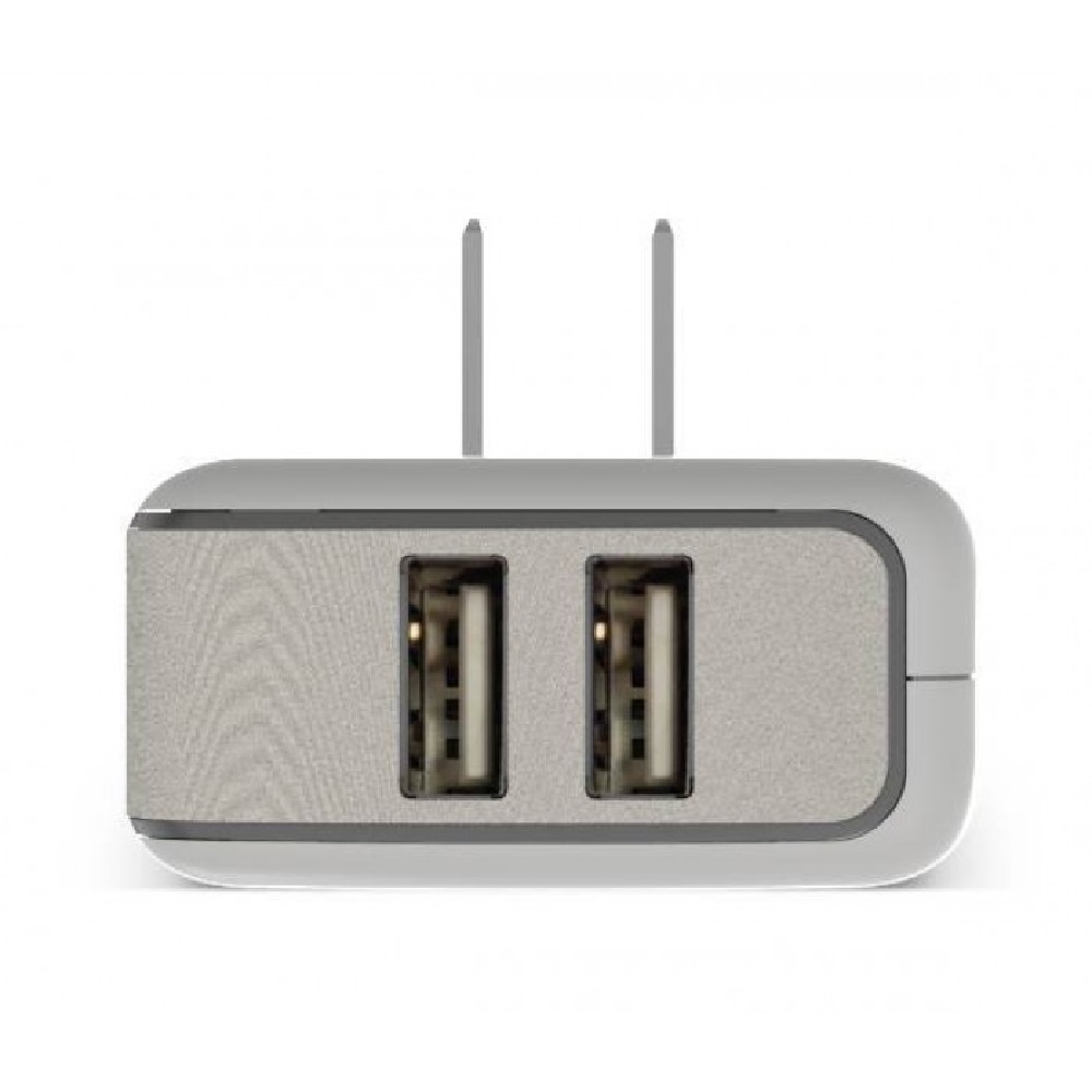 Puregear chargeur mural double usb 4 8a blanc mobile for Chargeur mural usb