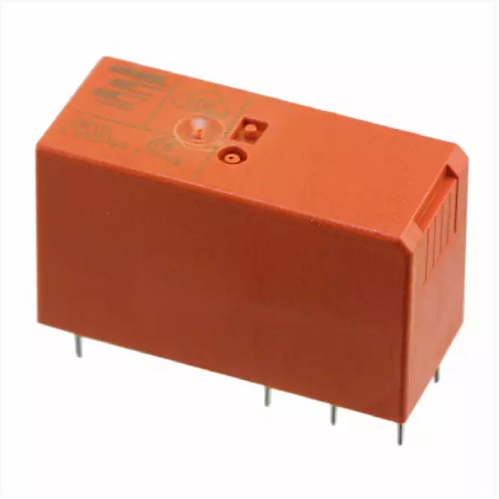 relay bistable bipolar spdt 16a 12v rt314a12 electronics kge  u00e9lectronique Monostable Relay vs Bistable Relay Phoenix Contact Bistable Relay