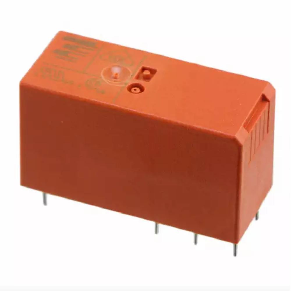 Relay Bistable Unipolar Spdt 16a 12v Rt314f2 Electronics Kge Dpdt Latching 12vdc