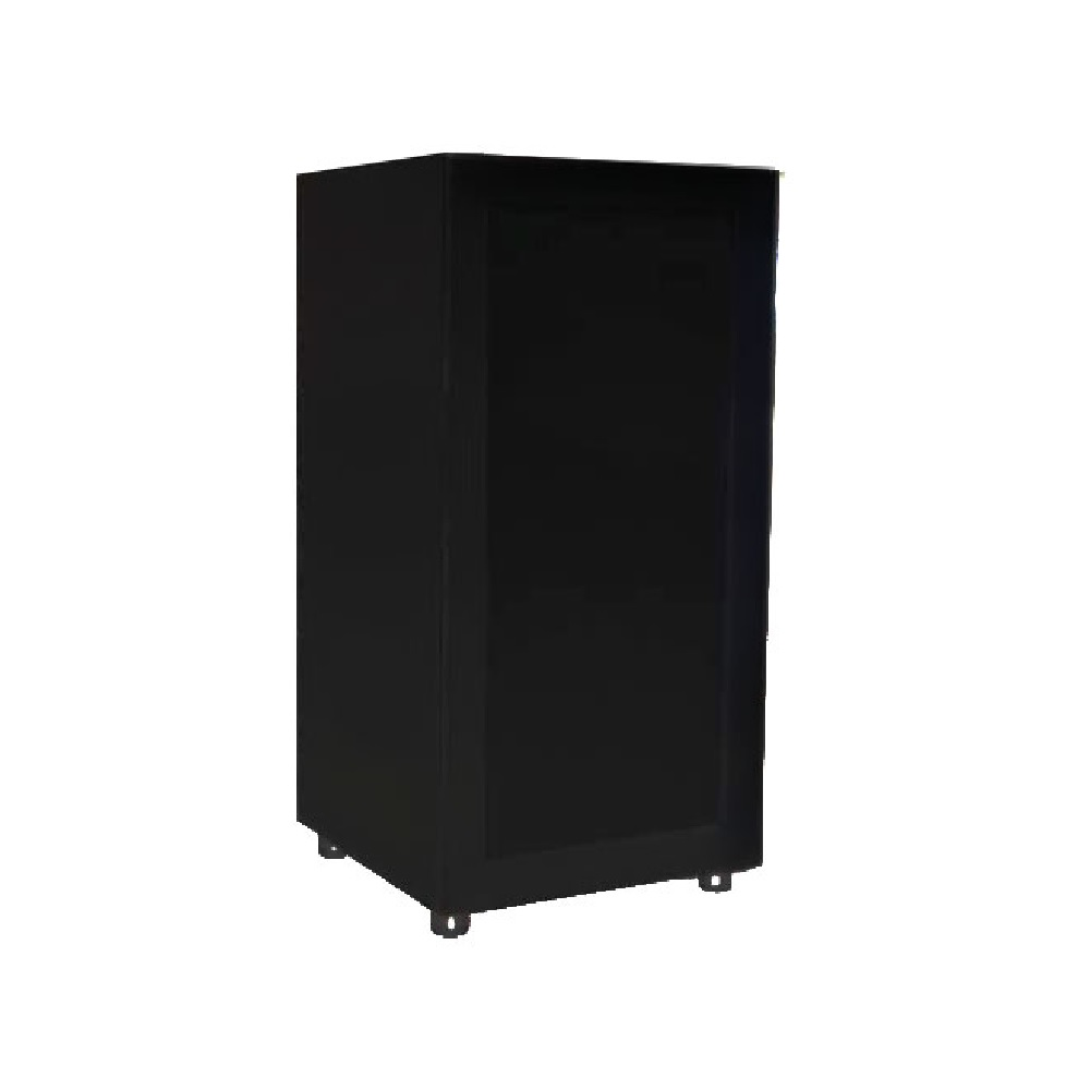 meuble de rangement audio s57a4n 41 en bois avec porte vitr e noir maison kge lectronique. Black Bedroom Furniture Sets. Home Design Ideas