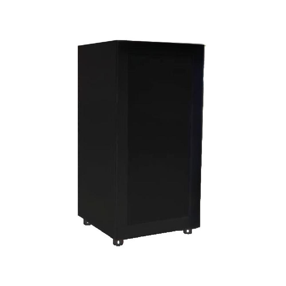 Meuble de rangement audio s57a4n 41 en bois avec porte vitr e noir maison auto bateau - Porte vitree pour meuble ...