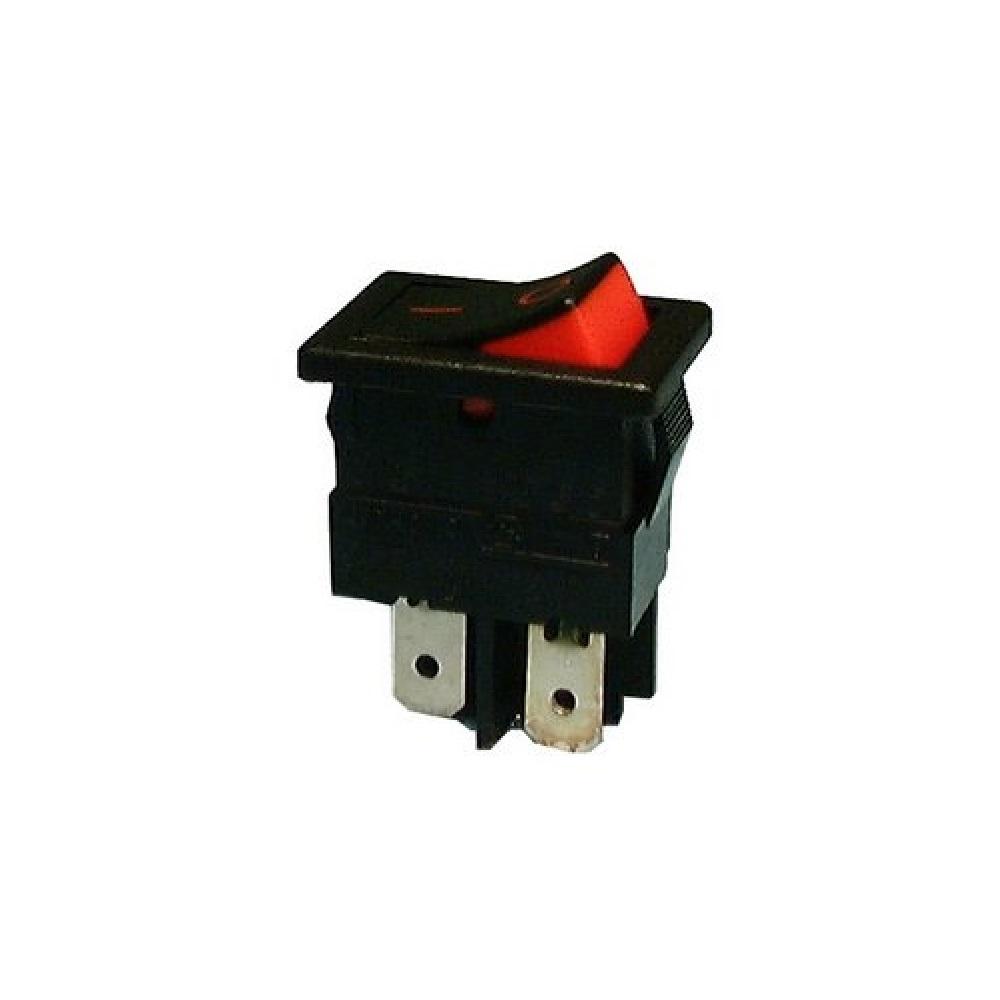 Rocker Switch DPST 10A 250V / 15A 125V AC - Electronics | KGE ...