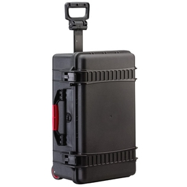 AMRE2550W Black Case on Wheels with Foam