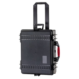 AMRE2600W Black Case on Wheels with Foam