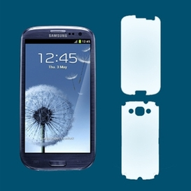 Screen and Back Wrap for Samsung Galaxy S3
