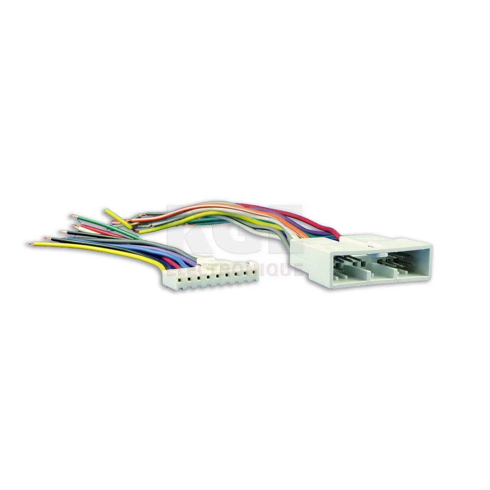 Universal 9-Pin Wire Harness for Sony - Metra SY09-0001 on