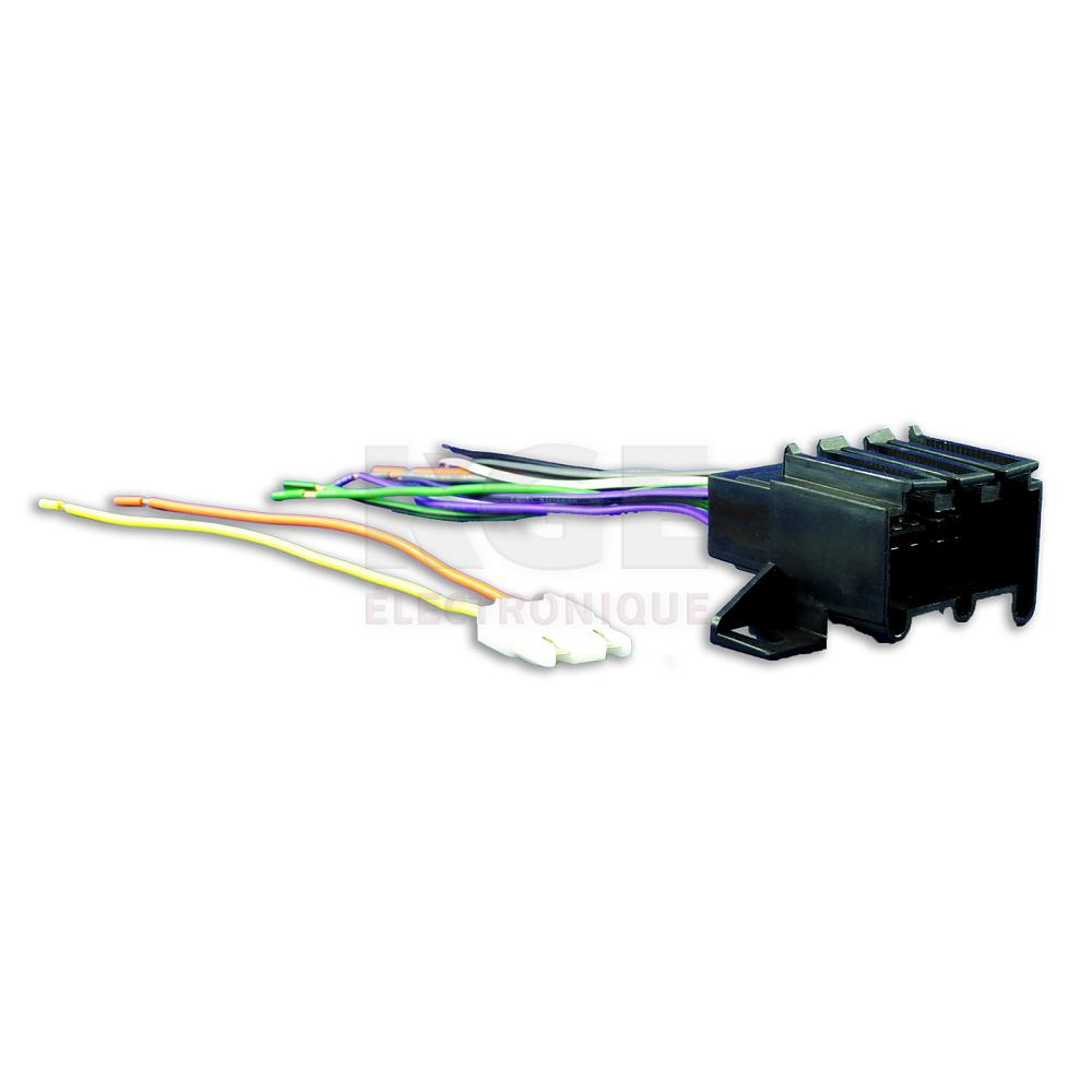 12-Pin Wire Harness for 4 Speakers for GM