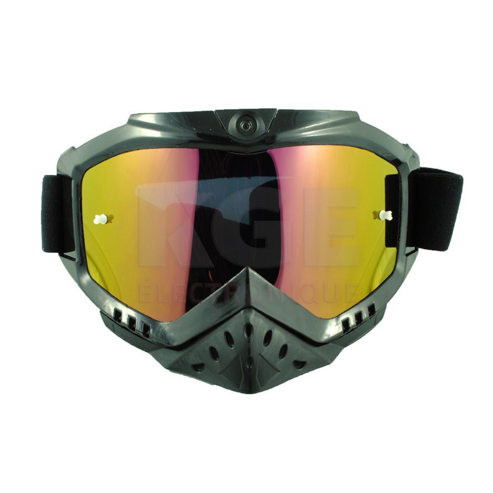 fbb8090dd5e99 Lunettes de Ski avec Caméra - Sécurité