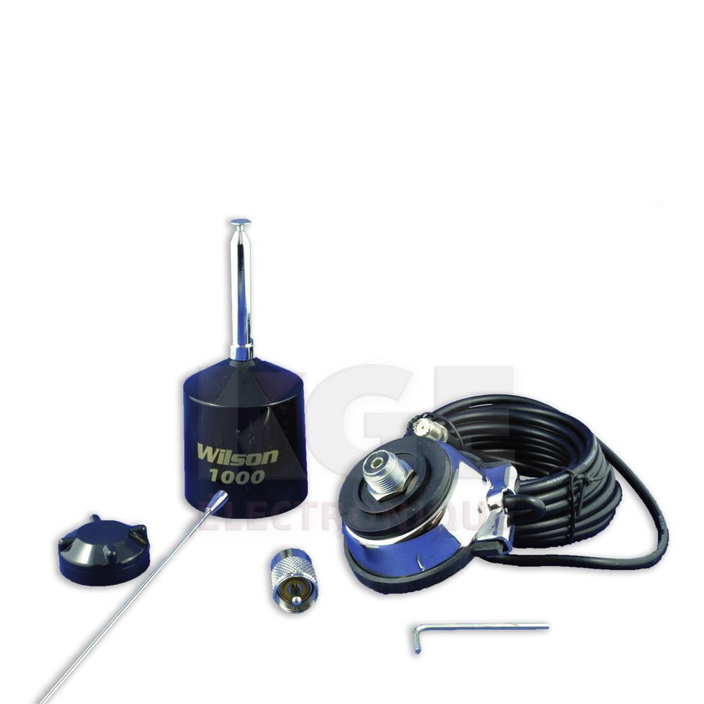 Antenne de cb pour valise wilson 1000 mobile kge for Antenne cellulaire maison