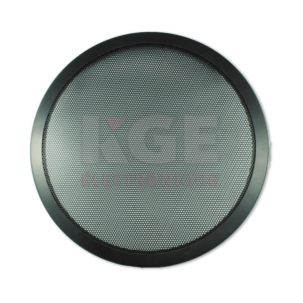grille de haut parleur 12 noire mobile kge lectronique. Black Bedroom Furniture Sets. Home Design Ideas