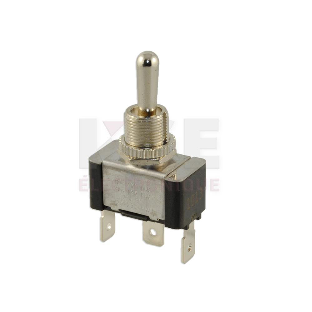 Heavy Duty Spdt Toggle Switch On Off Electronics Kge Lectronique Dpdt Onoffon